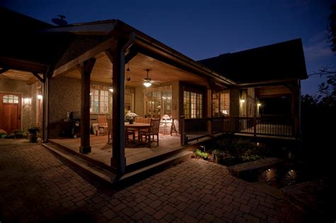 porch at night porches hgtv