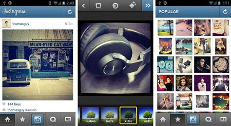 instagram apps for android image gallery instagram app for android