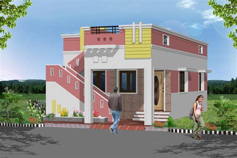 1bhk model home plan in tamil nadu studio design