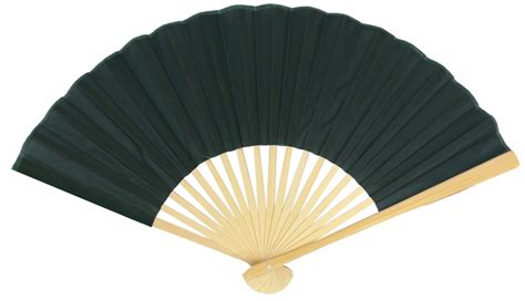 hand fans for sale 9 quot black silk hand fans for weddings 10 pack on sale now