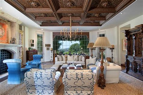 bill gates living room jenny craig s luxurious former home including its car