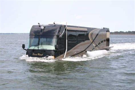 car boat motorhome this hibious rv is a true land yacht neatorama