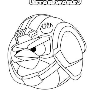 angry birds anakin coloring page angry birds star wars anakin skywalker coloring pages