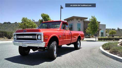 1970 chevrolet k20 c20 truck 4x4
