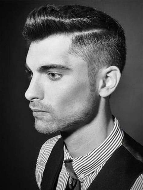 mens undercut side part young men comb over hairstyle hairstylegalleries com