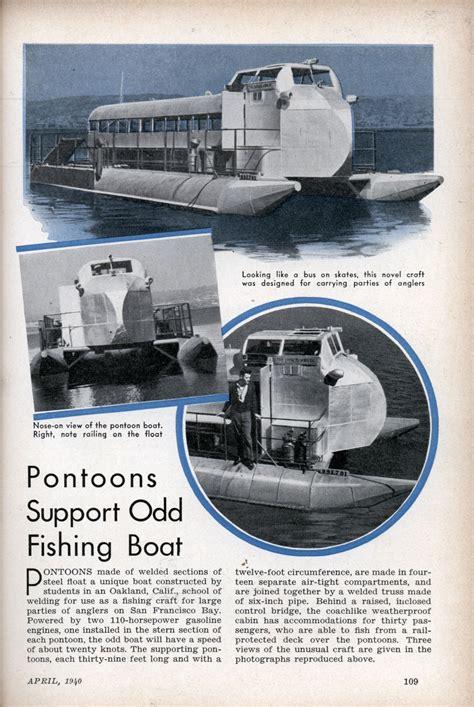 boat engine jerking pontoons support odd fishing boat modern mechanix