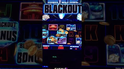 high voltage blackout slot machine live play new everi high voltage blackout slot