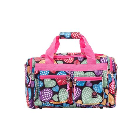 rockland 19 in multi tote bag ptb419 newheart the home