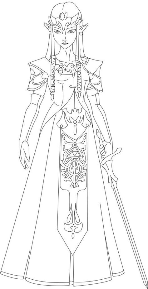 free printable zelda coloring pages legend of zelda coloring pages online img 21598