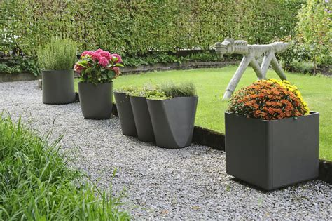 Outdoor Planters by Design For The Garden Modern Design By Moderndesign Org