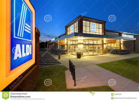 aldi süd matratzen aldi shop sign editorial image cartoondealer 49149796