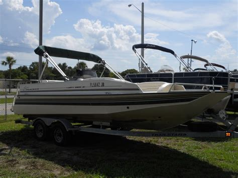 sun tracker 21 party deck boats for sale - Used Tracker Deck Boats For Sale