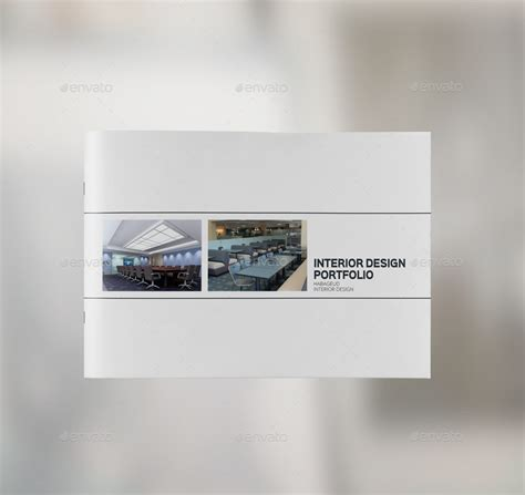 design portfolio pdf template interior design portfolio template by habageud graphicriver