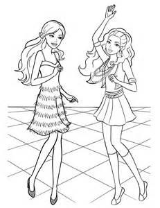 desenho barbie amiga 231 ando na pista colorir tudodesenhos
