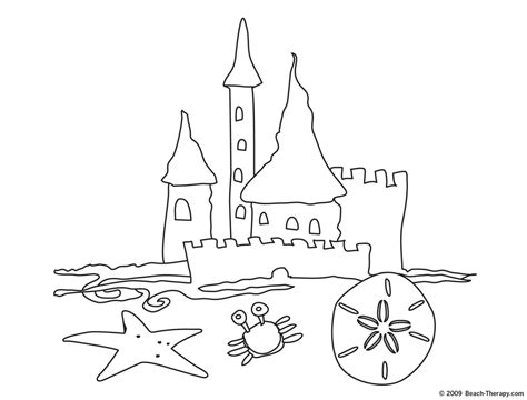 free coloring pages sand castle image gallery sandcastle coloring