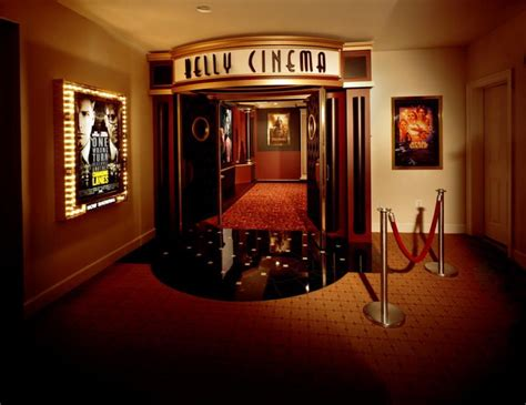 home theatre entrance     im rich