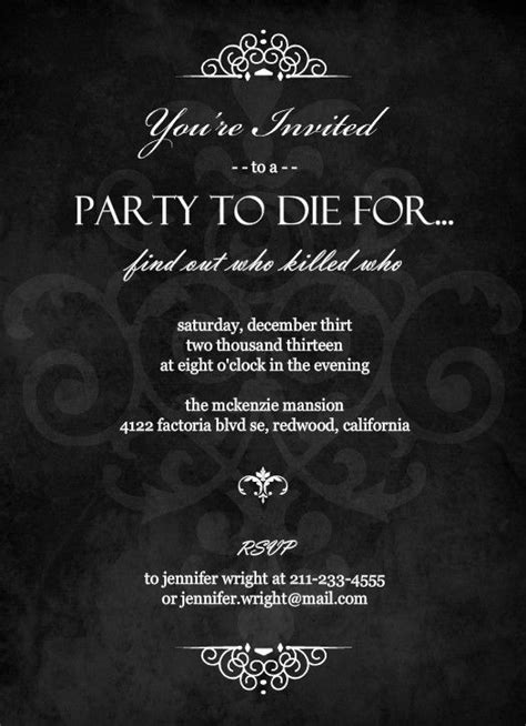 25 Best Ideas About Mystery Dinner Party On Pinterest Murder Mystery Parties Mystery Dinner Murder Mystery Dinner Template