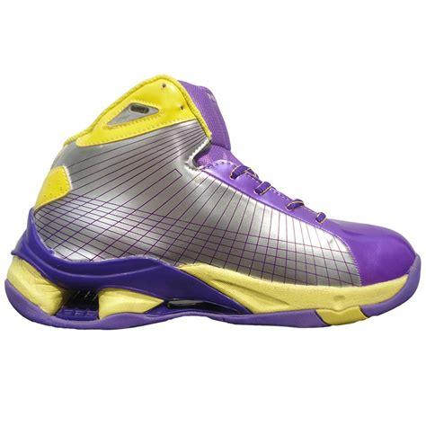 yellow and purple basketball shoes nivia warrior basketball shoe yellow and purple buy