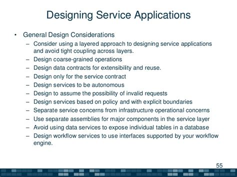 application design considerations a summary of software architecture guide