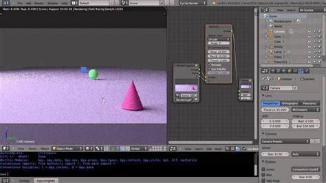 tutorial blender nodes blender 2 65 tutorial cycles nodes and depth of field