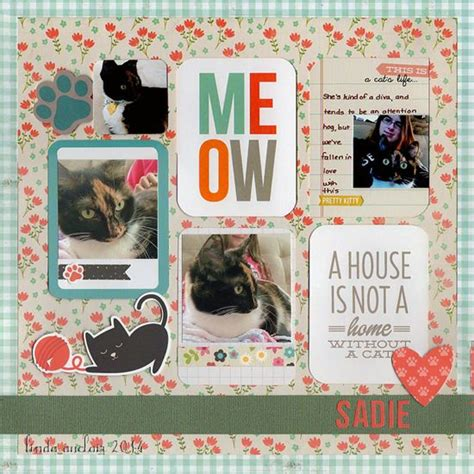 scrapbook layout cat 17 best images about dog and cat scrapbooking layouts on