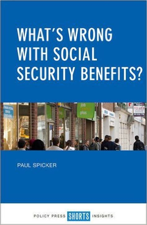 what s wrong with social security benefits book cover