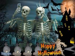 halloween pictures skeletons happy halloween skeleton group picture pictures photos