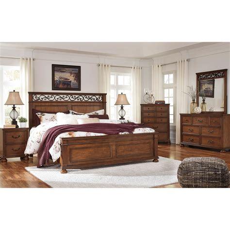 5 pc bedroom set ashley lazzene 5 pc bedroom set bedroom sets home