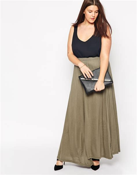 new designer side split skirt fashion casual