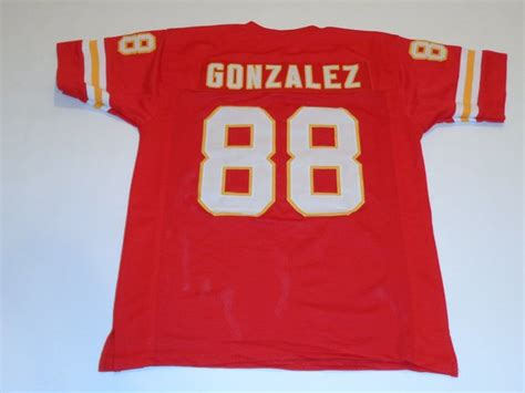 replica white tony gonzalez 88 jersey attractive p 612 88 tony gonzalez kansas city chiefs nfl te throwback
