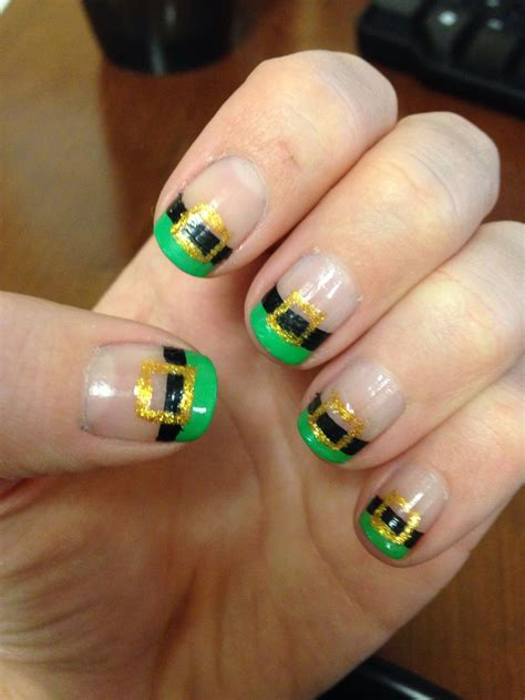 st nails st patricks day nails st s day