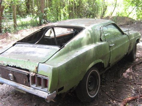 1970 mustang for sale cheap 1970 ford mustang fastback project cheap complete