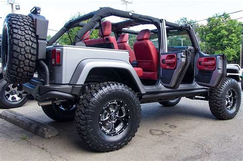 Jeep Rubicon No Doors by 10th Anniversary Jeep Wrangler Rubicon In Billet