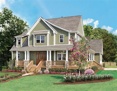 trotterville house plan home color trend hues of green house design house