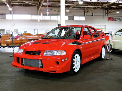 mitsubishi museum mitsubishi lancer evo vi tommi makinen edition at the