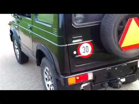 30 Km H Auto Kaufen by Suzuki Sj410 30km H Youtube