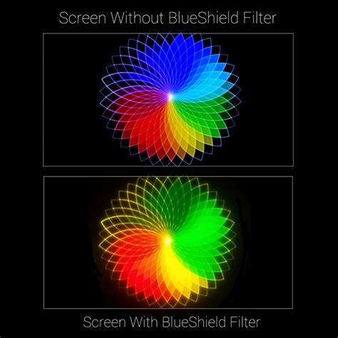 blue light filter for computer screen blue light filter for tv computer screens large