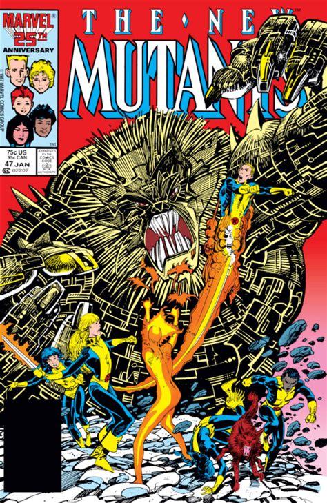 new mutants vol 1 1 new mutants vol 1 47 marvel comics database