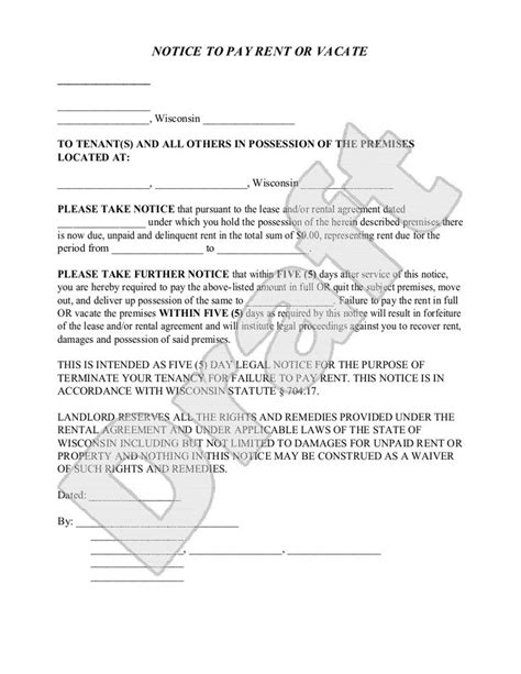 Sle Of Tenancy Agreement Letter In Nigeria Quit Notice Letter From Landlord To Tenant In Nigeria Sle Eviction Notice Free Of Letter