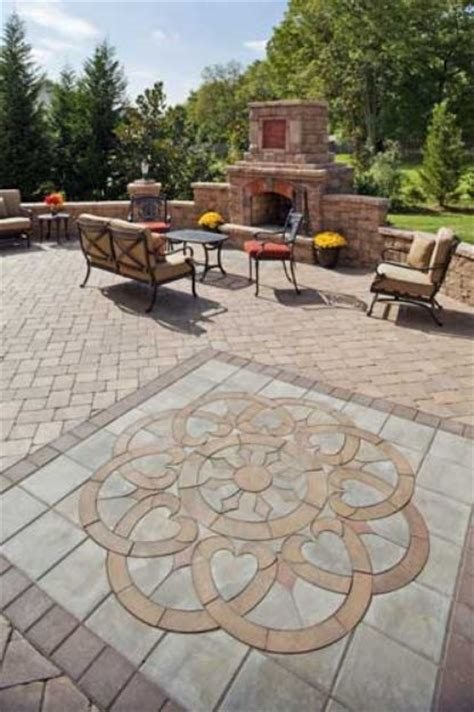 Backyard Ideas With Pavers Patio With Pavers Ideas New Interior Exterior Design Worldlpg