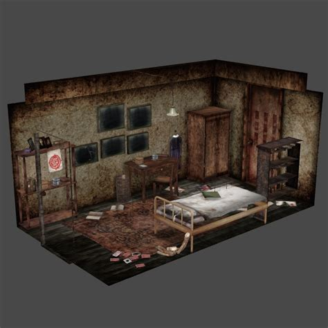 dr silent hospital 3 7 dr silent hospital 3 5 silent hill 3 alessa s room by