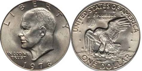 1978 d eisenhower dollar values facts