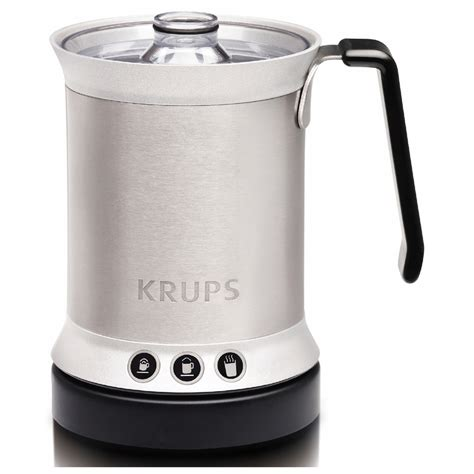 Fujicom Electric Milk Frother Krups Xl200044 Automatic Milk Frother Iwoot