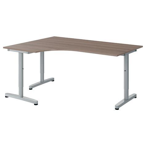 galant corner desk galant corner desk left gray t leg ikea michael s