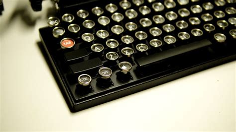 A Vintage Keyboard by This Usb Keyboard Will Bring Back The Nostalgic Clicks Of