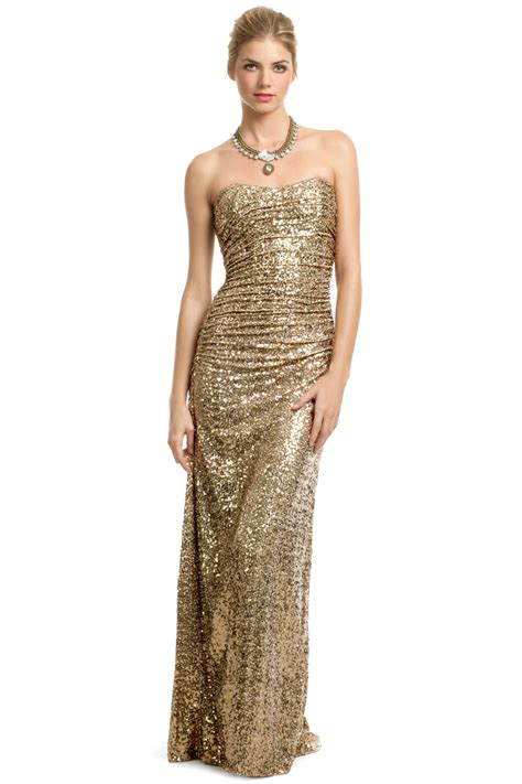 Dress Is In Now What by Now Trending Gold Wedding Dresses Dresscab
