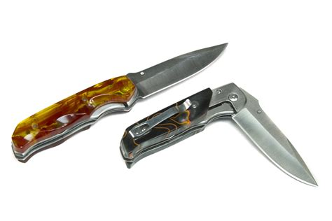 kit knives tooth woods pocket folding knife kit stainless steel