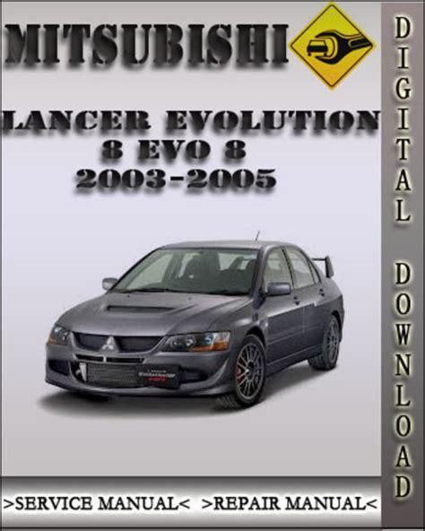 book repair manual 2003 mitsubishi lancer evolution interior lighting 2003 2005 mitsubishi lancer evolution 8 evo 8 factory service repai