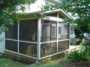 Screened Porch Plans by Charlotte Nc Designers Choice Com Screen Porches Screen