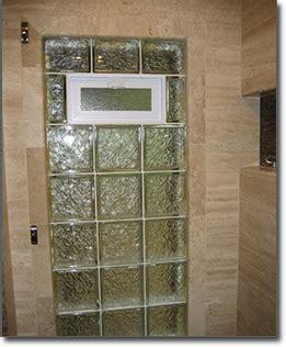 glass block windows for bathrooms glass block bathroom windows